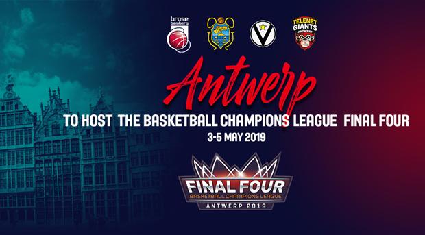 f8e3d9f73a8 Antwerp to host Basketball Champions League Final Four