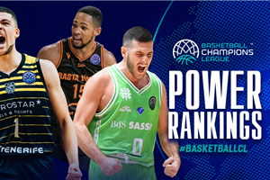 Basketball Champions League Power Rankings: Volume 6