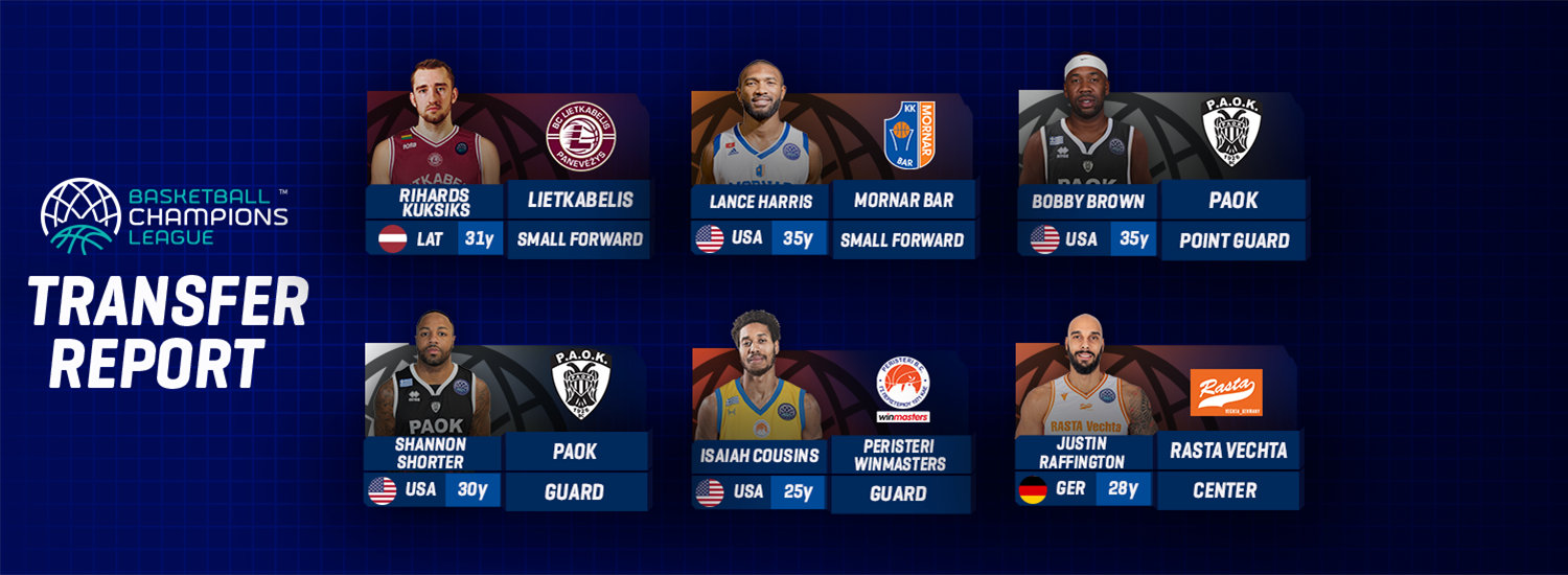 Transfer Report Gameday 10 Part 2 Basketball Champions