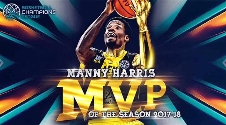 Harris named MVP of the Season